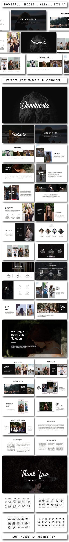 GraphicRiver Dominesia Multipurpose Keynote 20674870