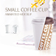 Small Coffee Cup Animated Mockup - GraphicRiver Item for Sale