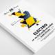 Futuristic & Electro Flyer Templates
