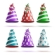 Party Hat Set Vector - GraphicRiver Item for Sale
