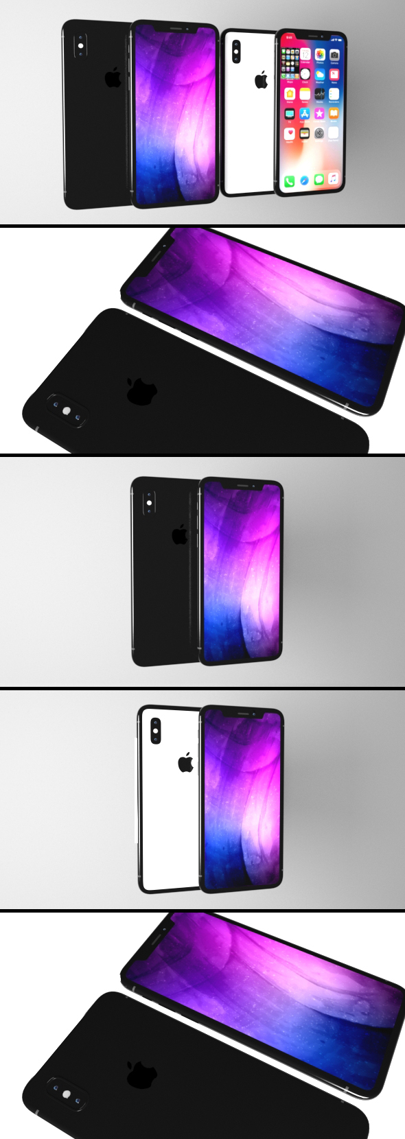 3DOcean iPhone X Collection 20675025