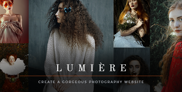 Image of Lumière - A Graceful Photography Theme