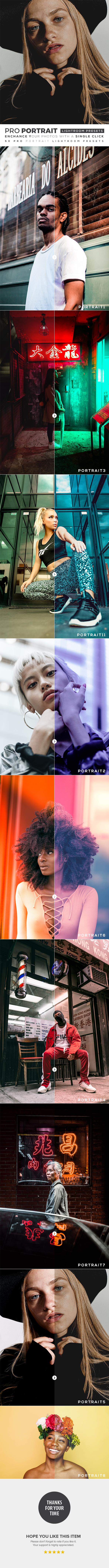 50 Pro Portrait Lightroom Presets - Portrait Lightroom Presets