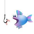 Fish Hook Bait Comic - PhotoDune Item for Sale