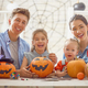 family preparing for Halloween. - PhotoDune Item for Sale