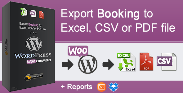 CodeCanyon WooCommerce Booking Export 20675571