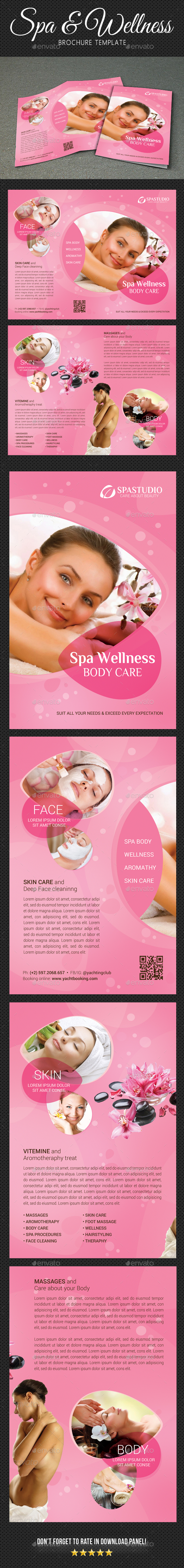 GraphicRiver Spa Wellness Brochure 20675765