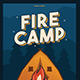 Fire Camp Flyer - GraphicRiver Item for Sale