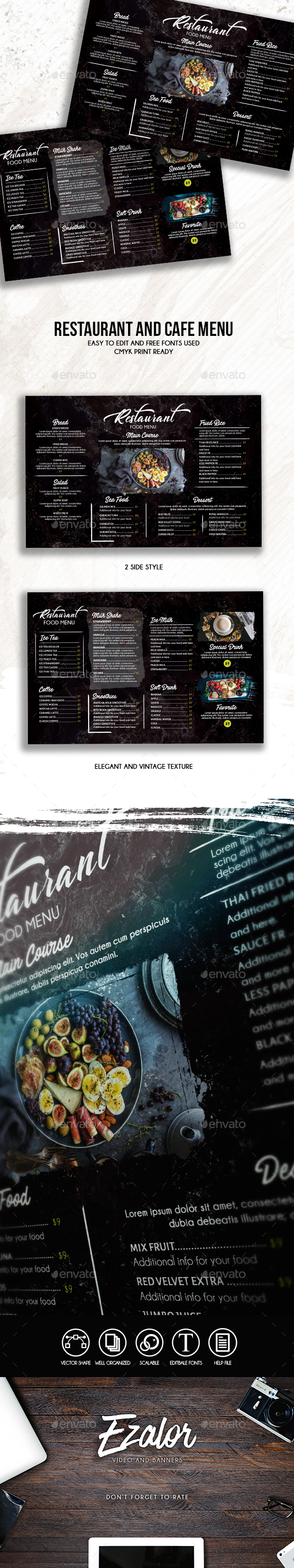 GraphicRiver Resto Food Menu 20675904