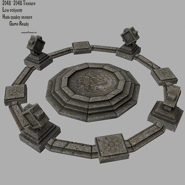 temple 1 - 3DOcean Item for Sale