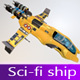 Next-Gen Space Ship - 3DOcean Item for Sale