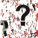 Black and Red Question Marks - VideoHive Item for Sale