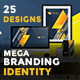 Mega Branding Identity - GraphicRiver Item for Sale