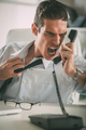 Angry Businessman - PhotoDune Item for Sale