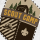 The Scouts & Camping Badges - GraphicRiver Item for Sale