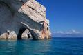 Blue caves on Zakynthos Island