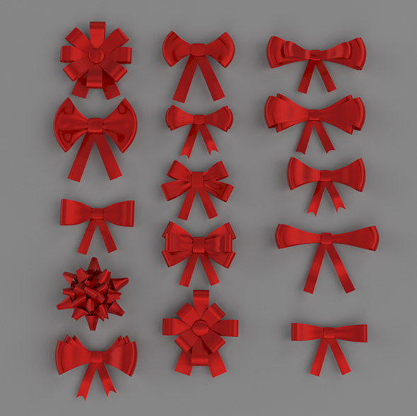 3DOcean Ribbon Bow Vol.1 20677056