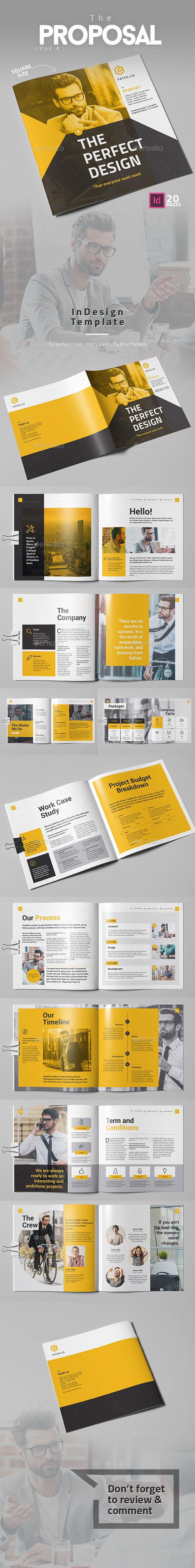 GraphicRiver The Proposal Vol 4 Square 20677353