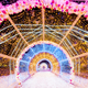 Decorated for Christmas and New Year decorative tunnel - PhotoDune Item for Sale