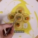 Aesthetically Beautiful Serving of Dishes. Chef Puts a Sprig of Greens on Ravioli, Use Tweezers - VideoHive Item for Sale