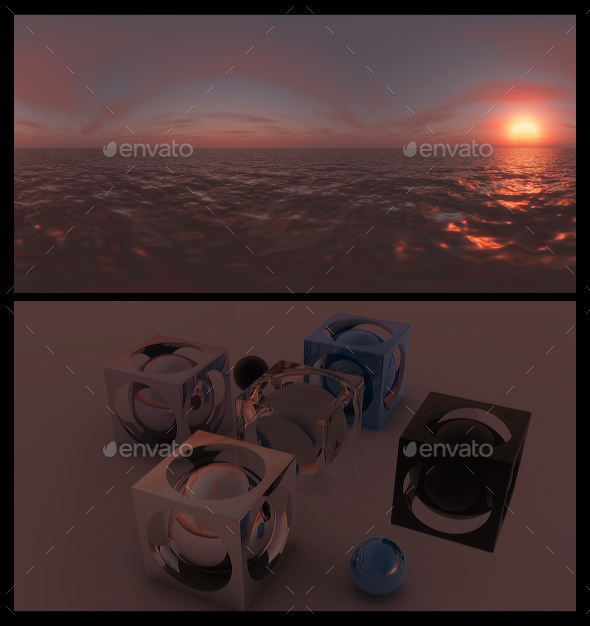 3DOcean Red Dawn 3 HDRI 20677676