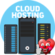 16 Big Concepts of Cloud Computing and Hosting - VideoHive Item for Sale