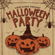 Halloween Party Vintage Flyer