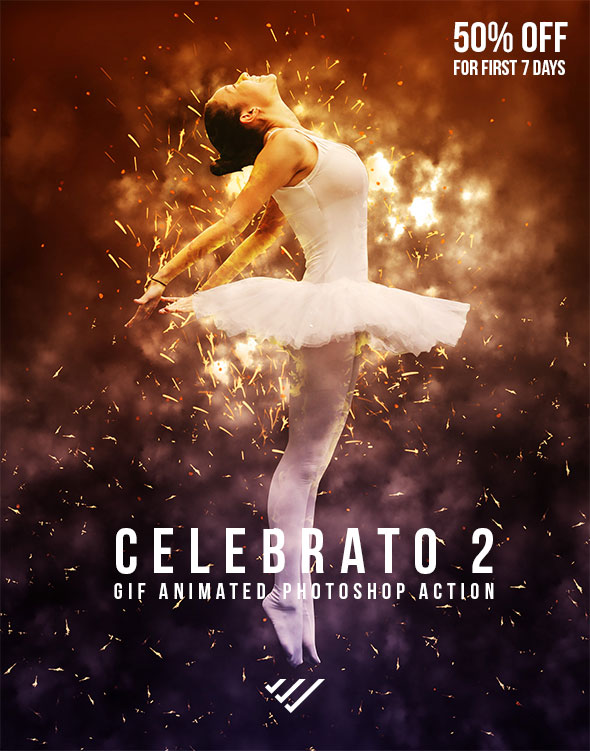 GraphicRiver Gif Animated Celebrato 2 Photoshop Action 20678058