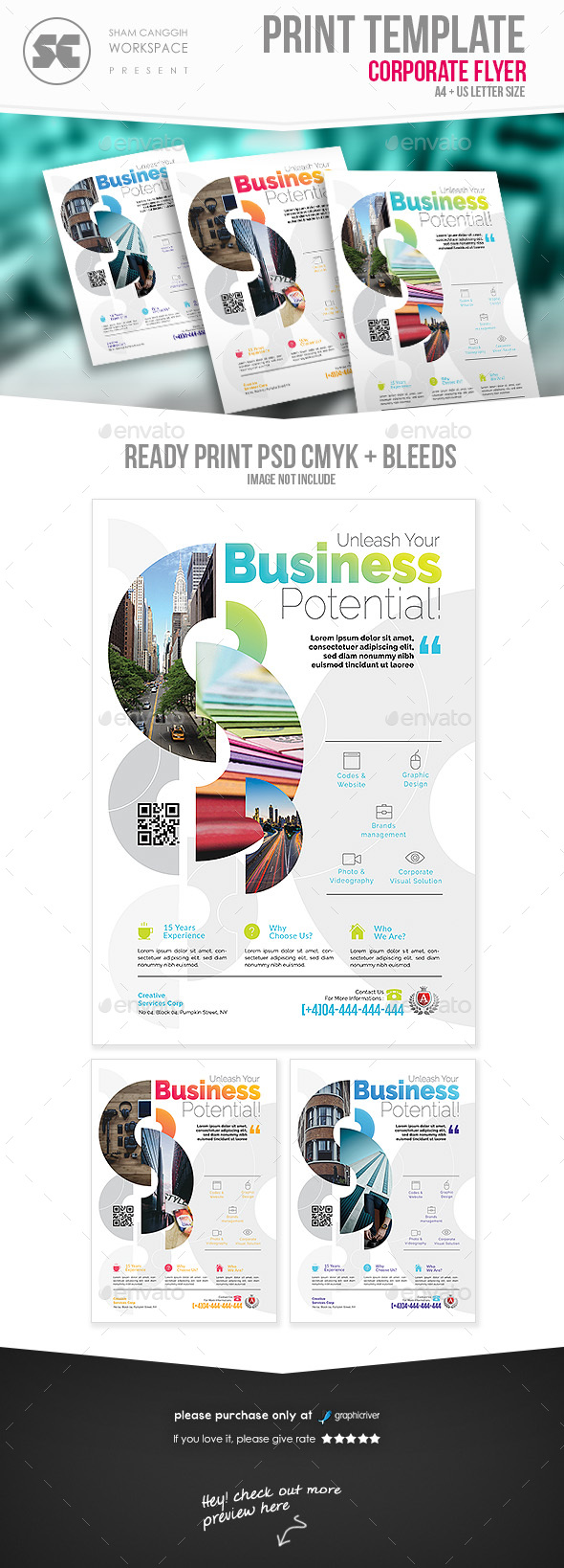 GraphicRiver Business Flyer 20678189