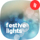 Festive Defocused Lights Backgrounds - GraphicRiver Item for Sale