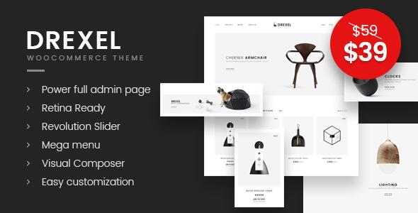 Drexel - WooCommerce Responsive Furniture Theme