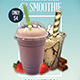 Milkshake & Smoothie Flyer Template