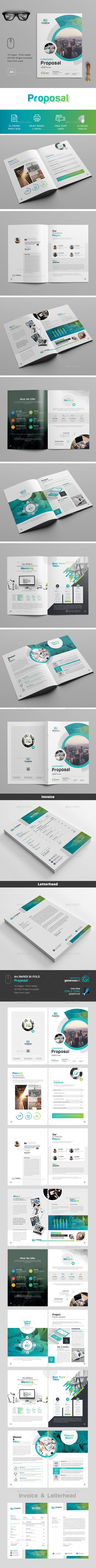 Proposal & Invoice - Proposals & Invoices Stationery