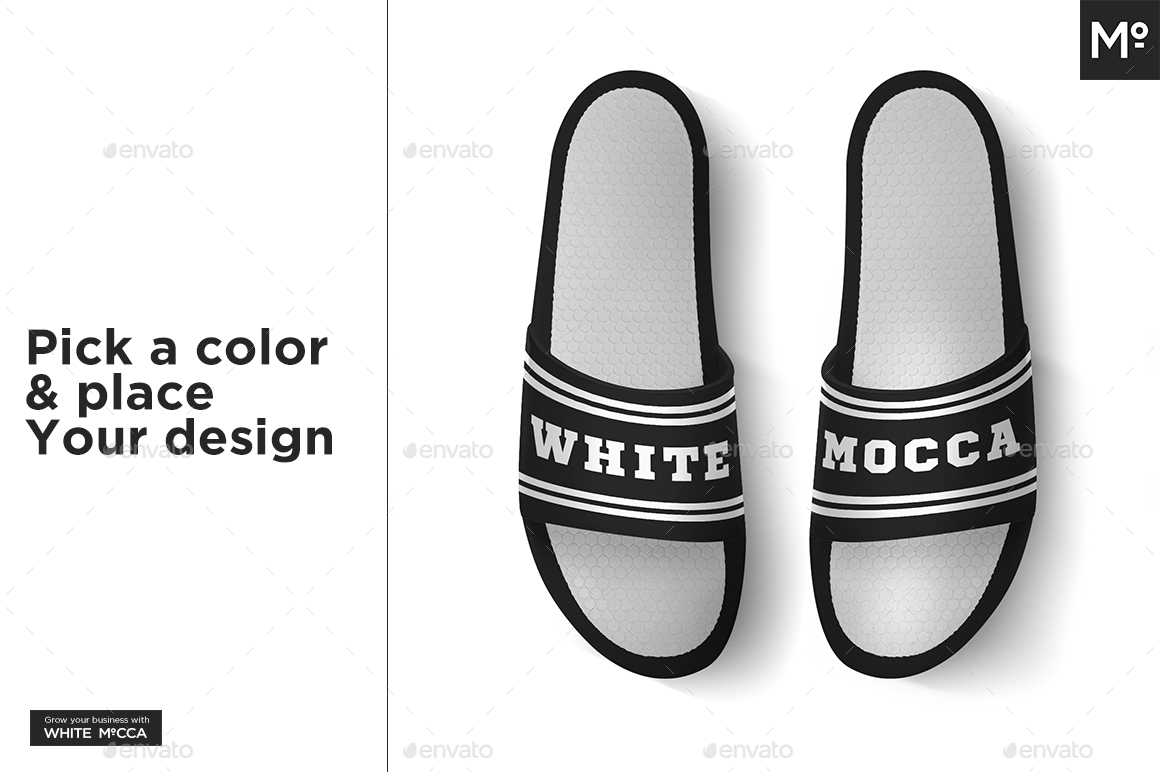 c2ba61c8bf120 Slide Sandals Mock-up