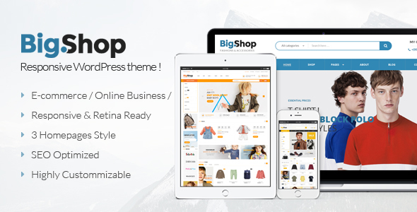 BigShop - Multipurpose WooCommerce WordPress Theme