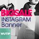 10 Instagram Post Banner-Big Sale