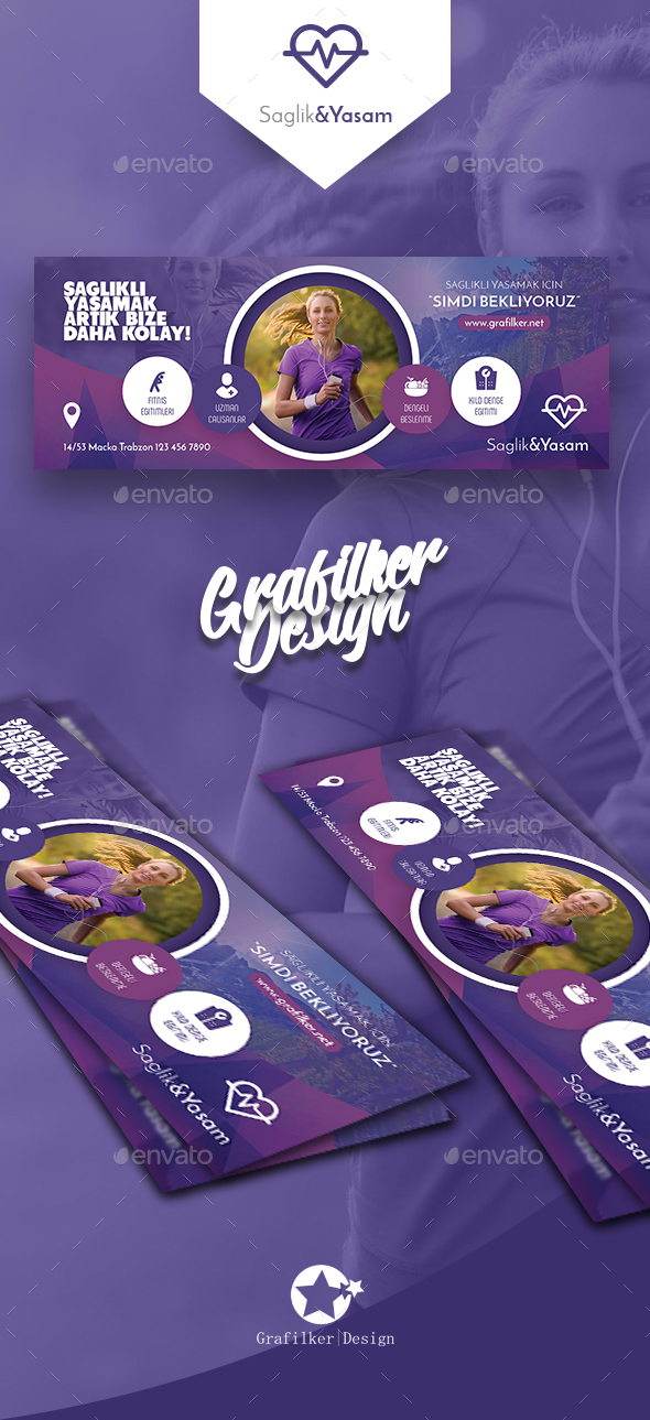 GraphicRiver Healthy Life Cover Templates 20679400