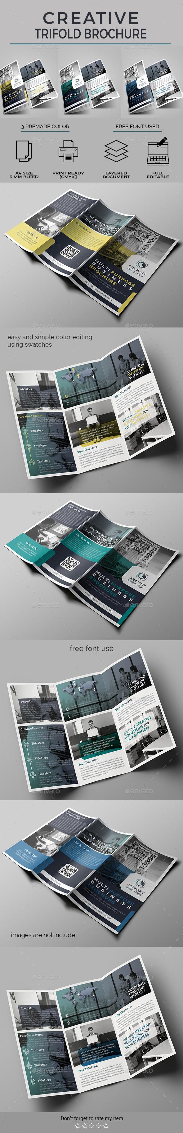 GraphicRiver Trifold Brochure 20679425