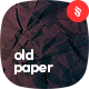 Crumpled Old Paper Backgrounds