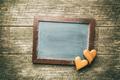 Black chalkboard and hearts. - PhotoDune Item for Sale