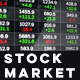 Stock Market Data on LED Display - VideoHive Item for Sale