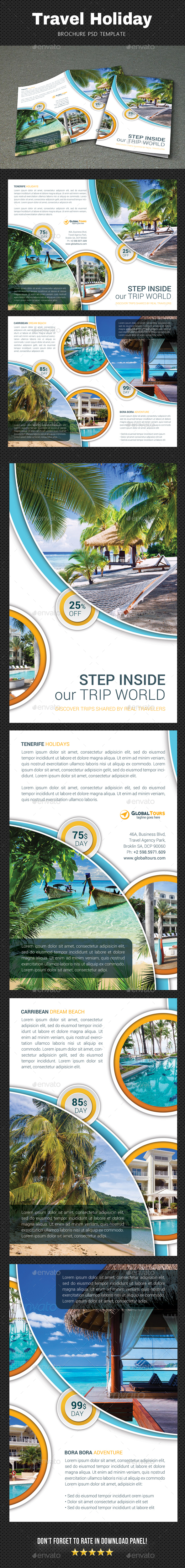 GraphicRiver Travel Brochure 20679939