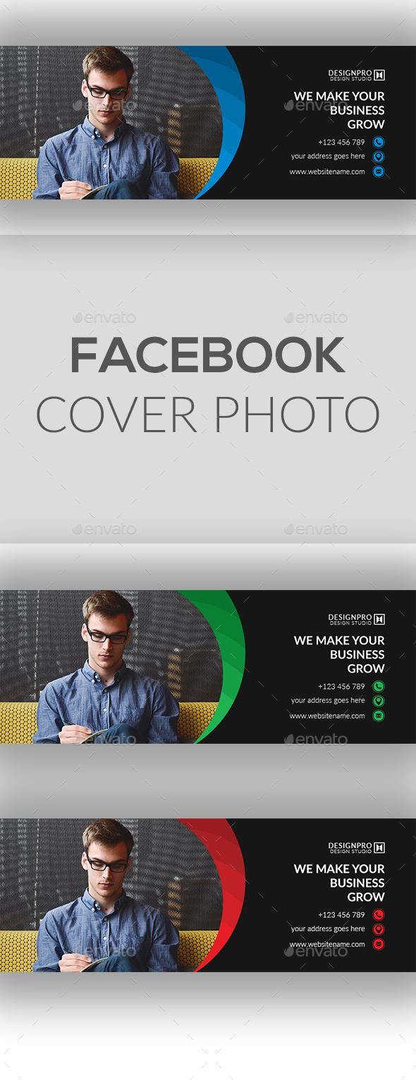 GraphicRiver Facebook Cover Photo 20679940