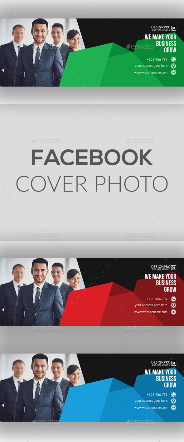 GraphicRiver Facebook Cover Photo 20679951