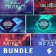 Electronic Music Event Facebook Post Banner Templates Bundle 6