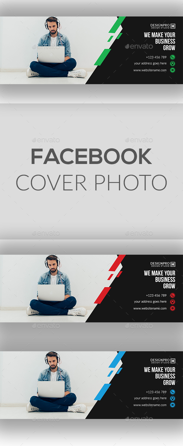 GraphicRiver Facebook Cover Photo 20679966