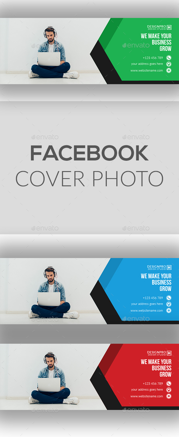 GraphicRiver Facebook Cover Photo 20679995