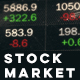 Cinematic Stock Market Data on LED Display - VideoHive Item for Sale