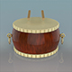 Chinese Drum - 3DOcean Item for Sale
