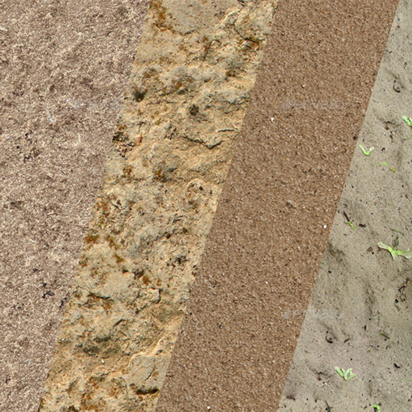 Textures sands - 3DOcean Item for Sale
